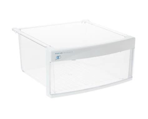 whirlpool refrigerator parts vegetable drawer ge pss26lgraww middle vegetable crisper drawer genuine oem