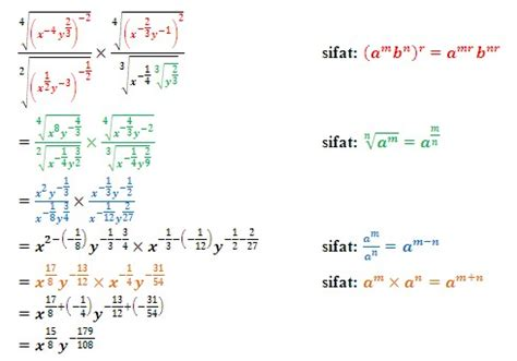 Pocket Pangkat soal dan pembahasan matematika bentuk pangkat dan akar 6