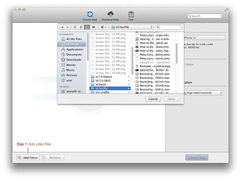 format converter mac free how to convert mov to other video format with kigo video