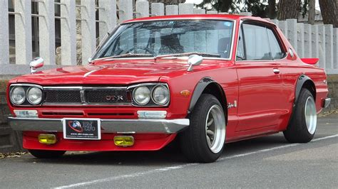 nissan datsun jdm hakosuka for sale nissan skyline kgc10 gtr clone coupe at