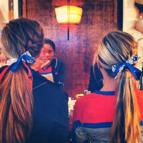 hairstyles for volleyball games love this for volleyball hair but aside from that i m