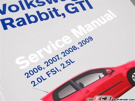 reviews volkswagen rabbit gti a5 repair manual 2006 2009 bentley publishers repair bentley vr09 vw mkv gti rabbit 06 09 service manual