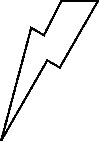 lightening bolt clip art at clker com vector clip art