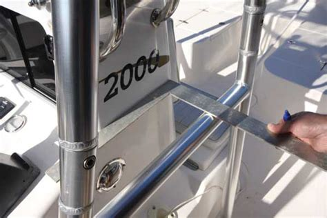 hydraulic boat t top install a universal t top on your boat boating world