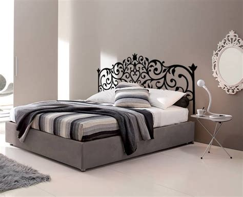 testata letto matrimoniale ferro battuto testata letto adesiva disegno ferro battuto per la casa