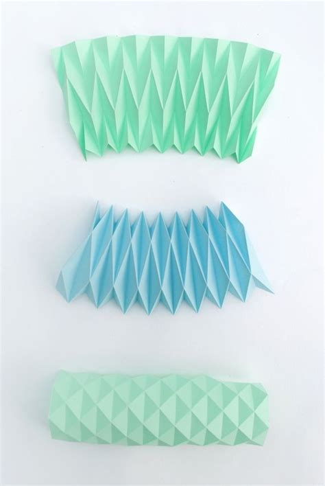 Paper Shapes Folding - origami the interesting of folding paper to make