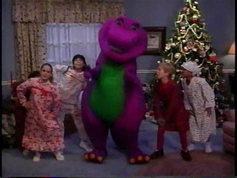 barney and the backyard gang waiting for santa santa barney wiki