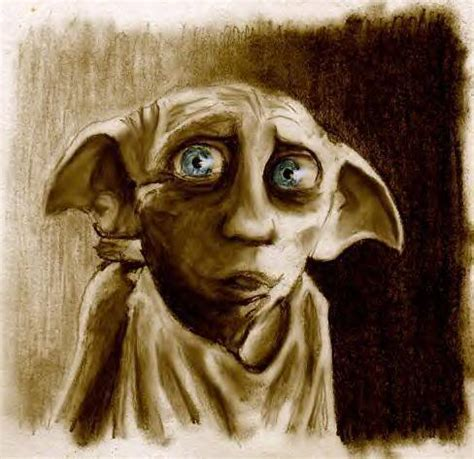 house elf dobby noldus fanart harry potter