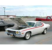 1973 Plymouth Road Runner With Modified 340 Engine White