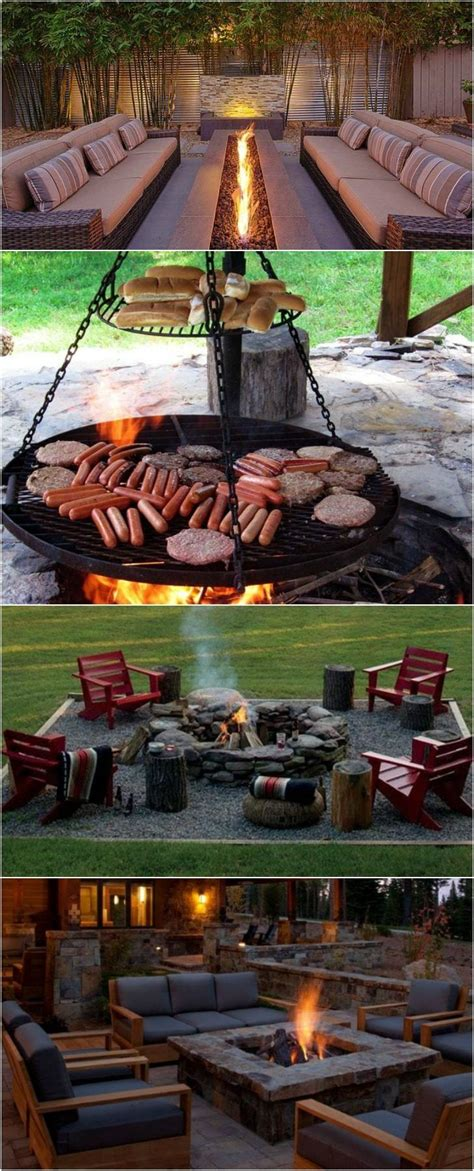 Backyard Bbq St Louis 17 Best Ideas About Diy Outdoor Fireplace On