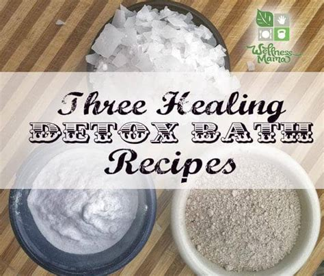 Salt Detox Bath by 3 Detox Bath Recipes For Improved Health