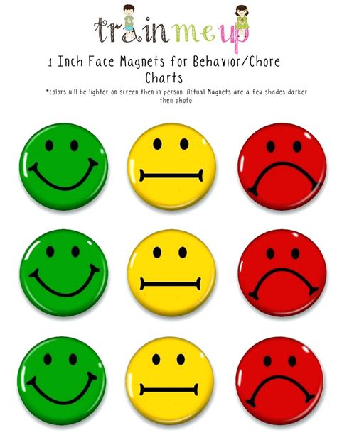 smiley behavior chart template smiley behavior chart template gallery template