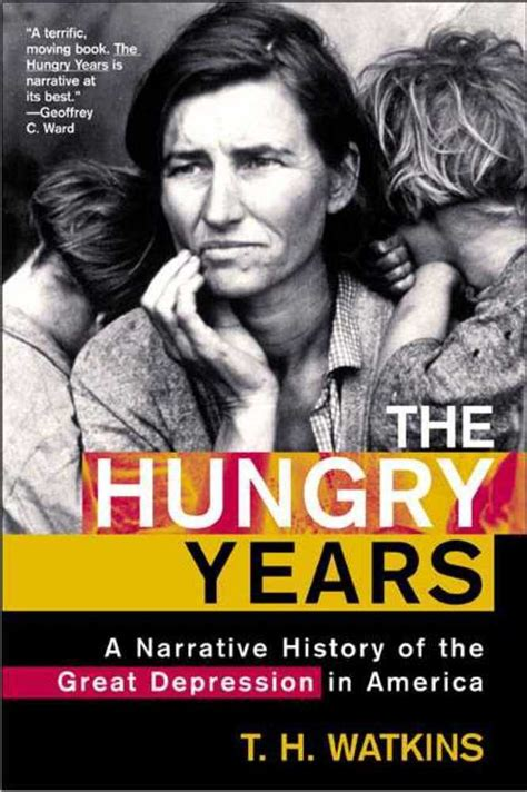 pierson the hungry years books the hungry years t h watkins macmillan