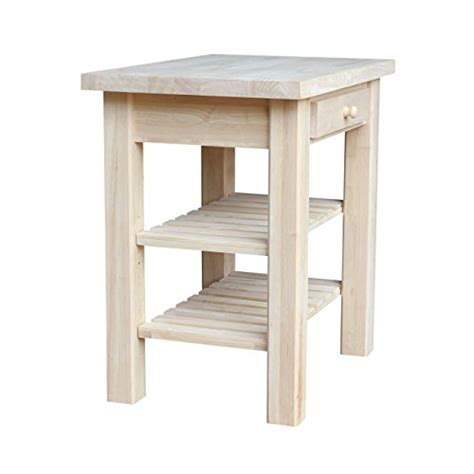 international concepts wc 3624 kitchen island unfinished