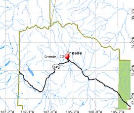 creede colorado map creede colorado co 81130 profile population maps