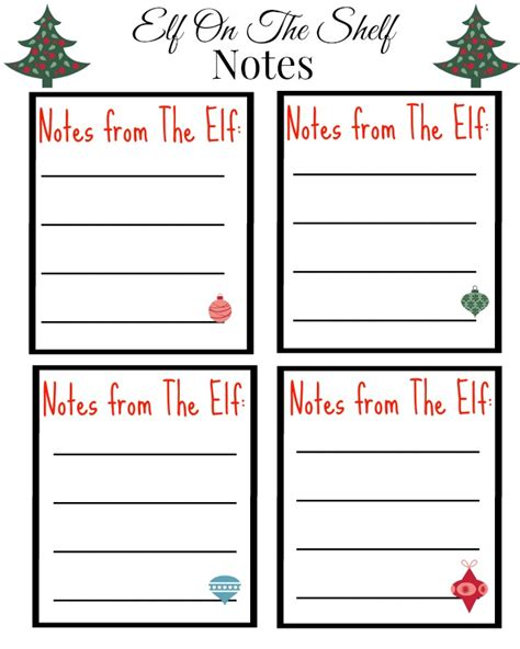 printable elf on the shelf notes love laughter foreverafterfree printable elf on the