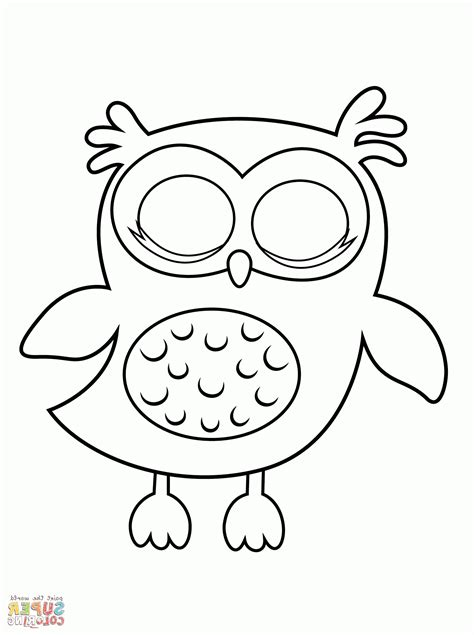 owl coloring pages preschool owl coloring pages preschool coloring home