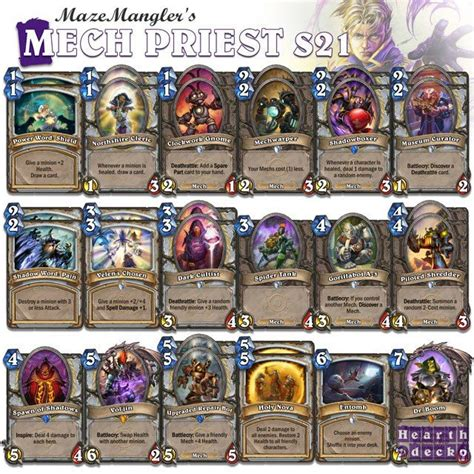 priest deck hearthstone priest deck hearthstone 28 images wotog standard deck