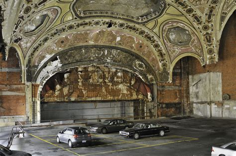 former theater makes the most beautiful parking garage in detroit requiem for the city on the move urbanus vulgaris