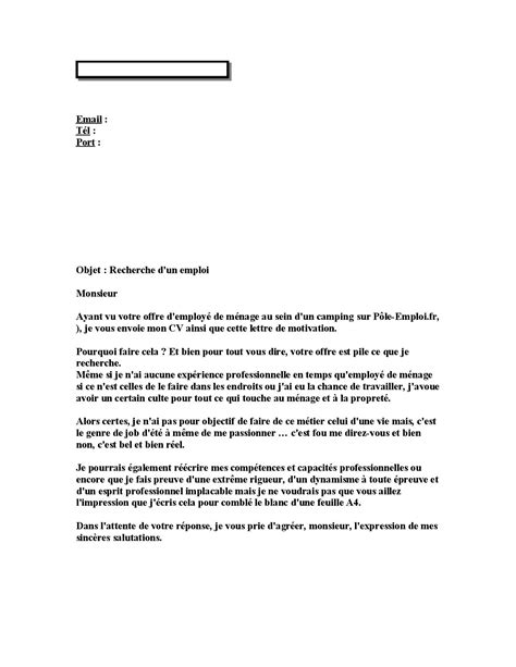 Lettre De Motivation De Base lettres de motivation cole