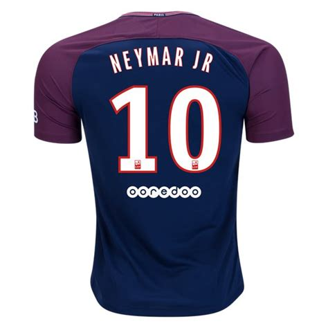 Jersey Bola 10 Neymar Psg Home 2017 2018 Grade Ori S M L Xl germain 17 18 home jersey neymar jr 10 392248 163 21 00 cheap soccer jerseys