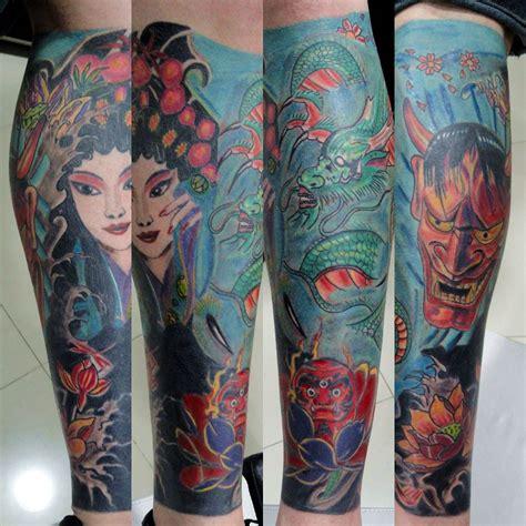 tattoo oriental perna fechada definiteskin tattoo tatuagem com tatuagens tattoo
