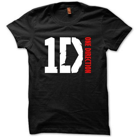 1d Shirt Black one direction 1d t shirt black up all from rocktheworldmerc on