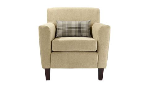 asda direct armchairs harewood accent chair in biscuit sofas armchairs