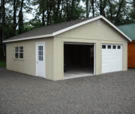 24 x24 two car garage salem structures llc