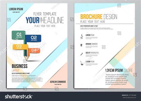 brochure design templates for education brochure design template education concept geometric