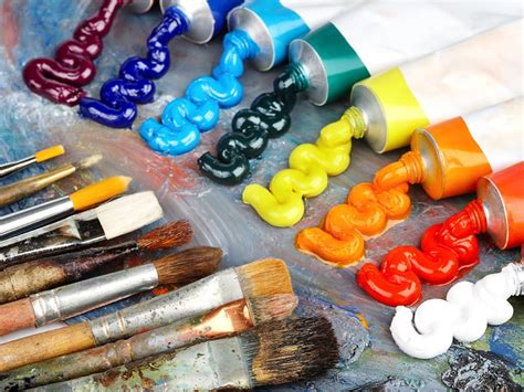 Painting Supplies by The Origins Of 7 Of Your Favorite Supplies