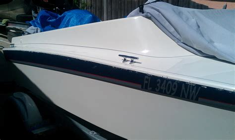 boat rub rail stainless steel stainless steel rub rail the hull truth boating and