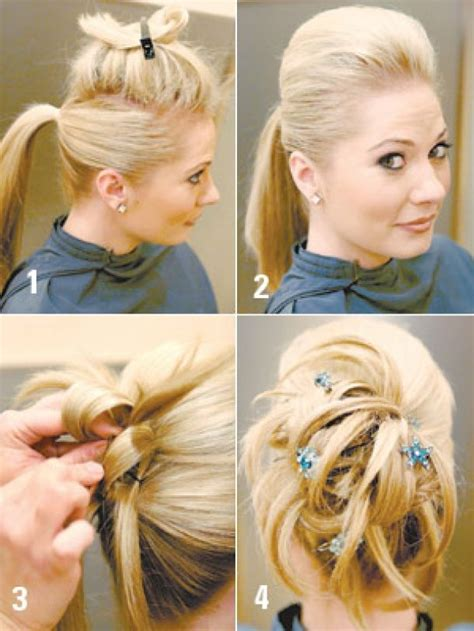 straight hairstyles at home beautiful easy hairstyles for long hair to do at home