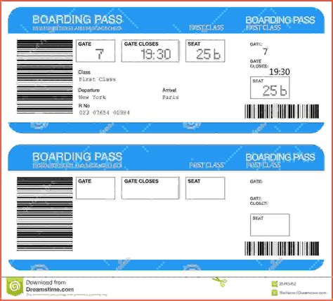 boarding pass template sponsorship letter