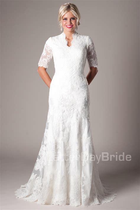 Longdress Sabrina Vera modest wedding dresses sabrina