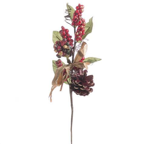 christmas floral picks and stems artificial leaf and berry picks and stems floral supplies craft supplies