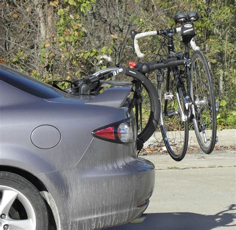 Trunk Mount Bike Rack For Car With Spoiler by Trunk Mount Bike Rack Recommendation For A 2012 Mercedes E