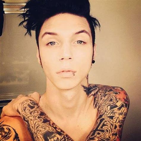 andy biersack tattoos andy andy sixx photo 35645152 fanpop