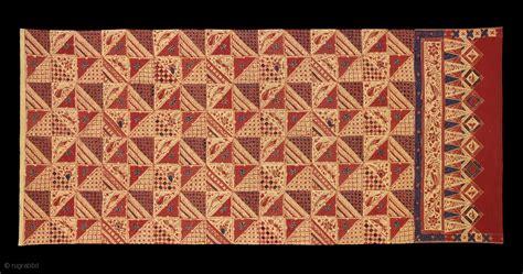 Kain Panjang Batik Cap Unggul Jaya te01396 1940s kain panjang batik tulis cap cloth hip wrapper cotton with and