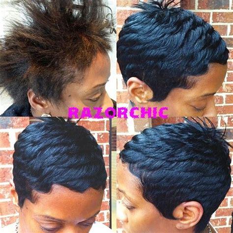 razor chic on pinterest malinda williams quick weave and short 40 best malinda williams short n sassy images on