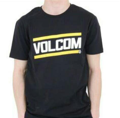 T Shirt Tshirt T Shirt Surfing Kaos Volcom A1638 jual beli tshirt kaos volcom hitam baru jual beli kaos