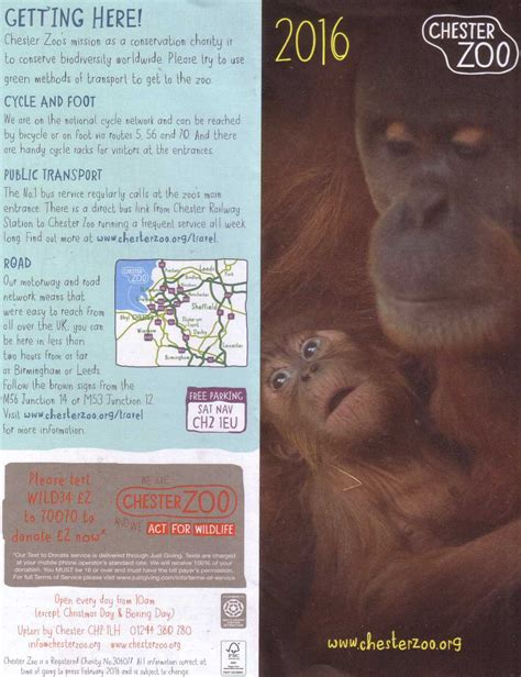 discount vouchers chester zoo chestertourist com chester zoo 1