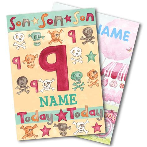 Age Birthday Cards   Funky Hampers