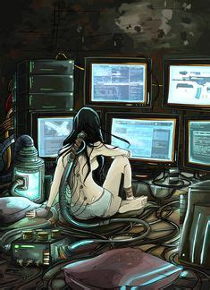 1000 images about cyberpunk hackers on pinterest rigs 1000 images about female scifi character on pinterest