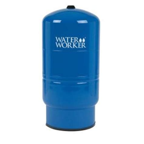 home depot tank water worker 32 gal pressurized well tank ht32b the