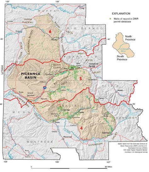 colorado and gas map encana will halt western colorado drilling in 2014