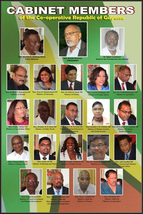 Guyana Cabinet by Pin Of Guyana Political Map On