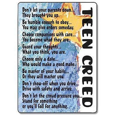 United Healthcare 75 Gift Card - teen creed prayer card by specialoccasions offeritem item number 56930