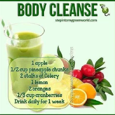 Detox Cleanse Drink by Cleanse Bfitchick Fitness 24 7