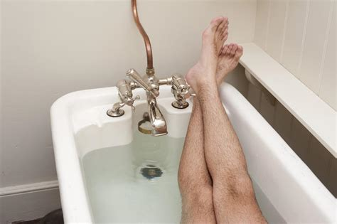 the bathtub man free stock photo 6928 man relaxing having a bath freeimageslive
